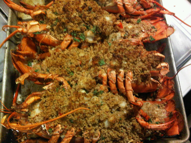 ... Baked stuffed lobster is really simple and your guests will be