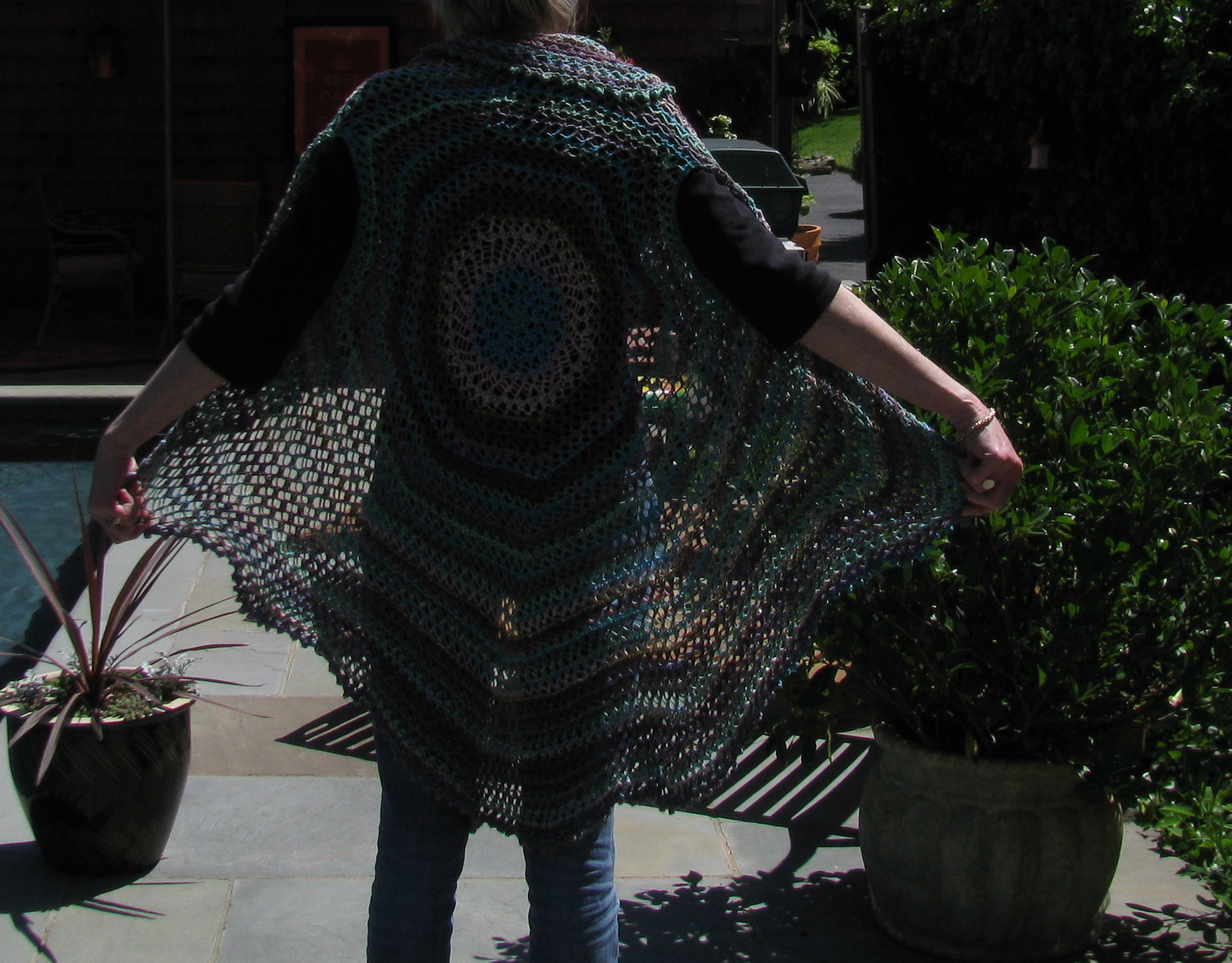 Ravelry: Circular Shrug pattern by Julia Allen