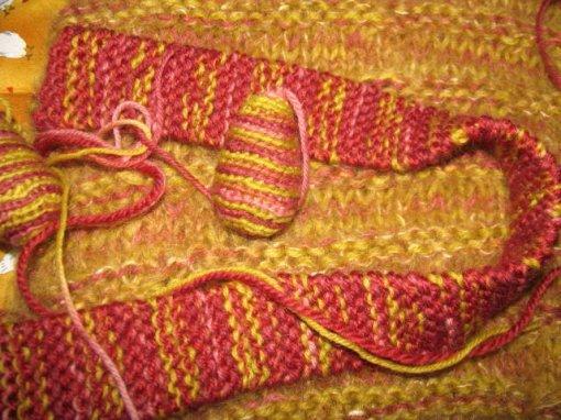 hobo bag strap felt knitting crochet eggs