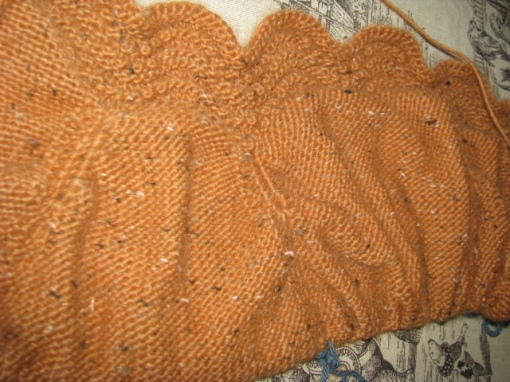 Knitting Increase Purlwise : The holden shawlette continued knitnscribble