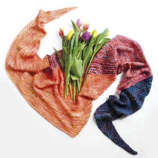 magic spring shawl pattern