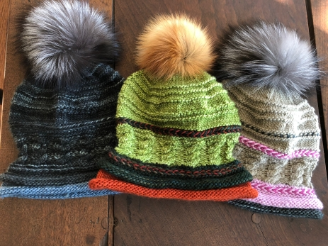 Spirit header cable hat pattern