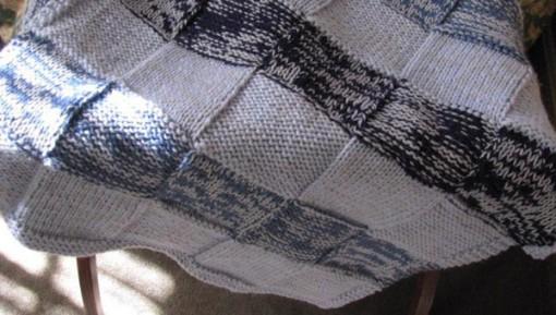 easy baby blanket pattern